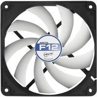 Arctic F12 PC-Gehäuse-Lüfter Schwarz, Weiß (B x H x T) 120 x 120 x 25mm