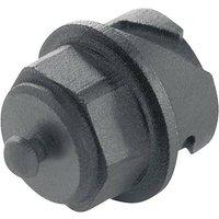 Telegärtner STX V1 Staubschutzkappe für Stecker Variante 1 H80030A0000 Schwarz H80030A0000 1St.