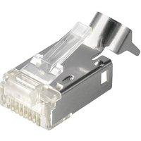 Telegärtner STX RJ45-Stecker Stecker, gerade Pole: 8P8C J80026A0000 Glasklar J80026A0000 1St.