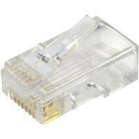 BEL Stewart Connectors Modular-Stecker ungeschirmt für Flachkabel Stecker, gerade Pole: 8P8C 937-SP