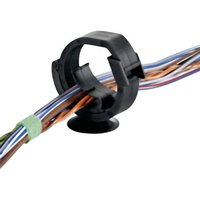 HellermannTyton AHC2BH Kabelhalter 151-00208 Bündel-Ø-Bereich 7 bis 11mm selbstverschließend, wie