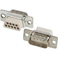 MH Connectors MHDBC09SP-NW D-SUB Stiftleiste 180° Polzahl: 9 Crimpen