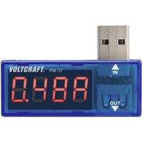 VOLTCRAFT PM-37 USB Strommessgerät digital CAT I Anzeige (Counts): 999