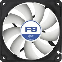 Arctic F9 PC-Gehäuse-Lüfter Schwarz, Weiß (B x H x T) 92 x 92 x 25mm
