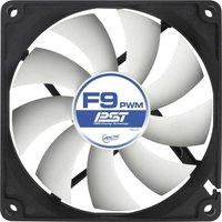 Arctic F9 PWM PST PC-Gehäuse-Lüfter Schwarz, Weiß (B x H x T) 92 x 92 x 25mm