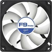 Arctic F9 PWM Rev. 2.0 PC-Gehäuse-Lüfter Schwarz, Weiß (B x H x T) 92 x 92 x 25mm