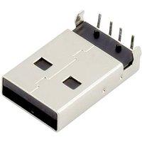 Connfly USB A Stecker Buchse, Einbau horizontal DS1097-BN0 DS1097-BN0 Inhalt