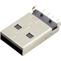 Connfly USB A Stecker Buchse, Einbau horizontal DS1098-BN0 DS1098-BN0 Inhalt
