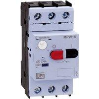 WEG MPW18-3-C016 Motorschutzschalter einstellbar 0.16A 1St.