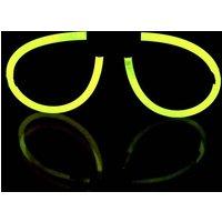 F-GLSyellow Knicklichter Brille Gelb