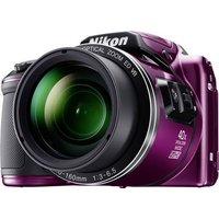 Nikon Coolpix B-500 Digitalkamera 16 Megapixel Opt. Zoom: 40 x Lila Full HD Video, Klappbares Displa
