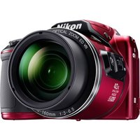 Nikon Coolpix B-500 Digitalkamera 16 Megapixel Opt. Zoom: 40 x Rot Full HD Video, Klappbares Display