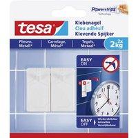 TESA 77762-00000-00 tesa® Klebenagel Weiß Inhalt: 2St.