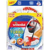 152545 Turbo Easy Wring & Clean Wischmop Ersatzkopf 2er Pack