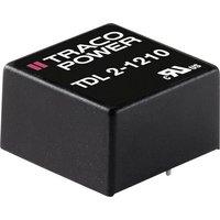 TracoPower TDL 2-4822 DC/DC-Wandler, Print 48 V/DC 12 V/DC, -12 V/DC 83mA 2W Anzahl Ausgänge: 2 x