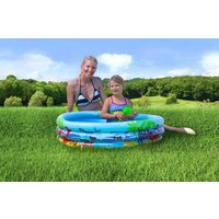 Splash & Fun Kindersurfer Beach Fun + Sichtfenster Luftmatratze