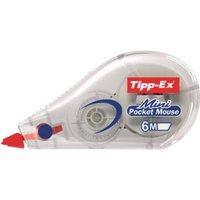 Tipp-Ex Korrekturroller Mini Pocket Mouse 5mm Weiß 6m