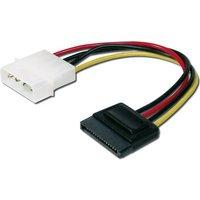 Digitus Computer, Festplatten, Laufwerk, Strom Kabel [1x IDE-Strom-Stecker 4pol. - 1x SATA-Strom-Buc