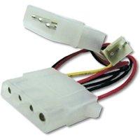 Digitus PC-Lüfter, Computer, Strom Kabel [1x IDE-Strom-Stecker 4pol. - 1x PC-Lüfter Buchse 3pol.]