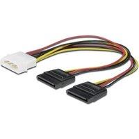 Digitus Computer, Festplatten, Laufwerk, Strom Kabel [1x IDE-Strom-Stecker 4pol. - 2x SATA-Strom-Buc