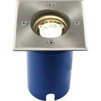 Heitronic Potsdam 36853 Bodeneinbauleuchte LED 7W Silber