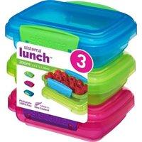 Sistema Lunchbox 3er Set