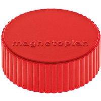 Magnetoplan Magnet Discofix Magnum (Ø x H) 34mm x 13mm rund Rot 10 St. 1660006