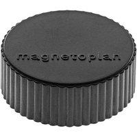 Magnetoplan Magnet Discofix Magnum (Ø x H) 34mm x 13mm rund Schwarz 10 St. 1660012