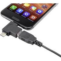Renkforce USB 3.2 Gen 1 (USB 3.0) Adapter [1x USB-C™ Stecker, USB 2.0 Stecker Micro-B - 1x USB 3.2