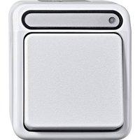 Interrupteur Merten MEG3102-8019 Aquastar blanc polaire