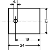 Fischer Elektronik GS 218 Glimmerscheibe (L x B) 24mm x 21mm Passend für TO-218