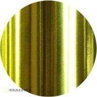 Oracover 26-094-003 Zierstreifen Oraline (L x B) 15m x 3mm Chrom-Gelb