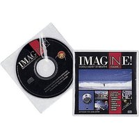 Durable CD Hülle 1 CD/DVD/Blu-Ray PP Transparent 10 St. 520219