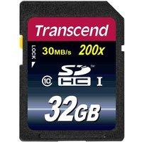 Transcend Premium SDHC-Karte 32GB Class 10