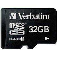 Verbatim Premium microSDHC-Karte 32GB Class 10