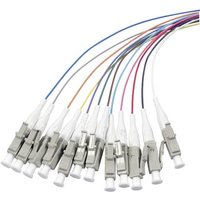 EFB Elektronik Glasfaser LWL Anschlusskabel [1x LC-Stecker - 1x offenes Ende] 9/125 µ Singlemode OS