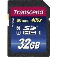 Transcend Premium 400 SDHC-Karte 32GB Class 10, UHS-I