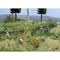 Busch 1258 H0 Blumen- und Pflanzen-Set Bausatz