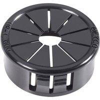 PB Fastener AF1000 Kabeldurchführung Klemm-Ø (max.) 19mm Plattenstärke (max.) 3.2mm Polyamid Schw