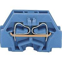 WAGO 260-304 Einzelklemme 5mm Zugfeder Belegung: N Blau
