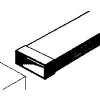 Wallair 20200111 Flachkanal-Lüftungssystem 100 Rohrverbinder