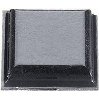 3M SJ 5007 Gerätefuß selbstklebend, quadratisch Schwarz (L x B x H) 10.2 x 10.2 x 2.5mm