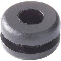 HellermannTyton OP1503-PE-NA-N1 Kabeldurchführung Klemm-Ø (max.) 5.4mm Plattenstärke (max.) 1mm P