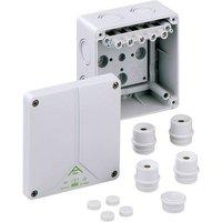 Boîte de raccordement Spelsberg 80640701 (L x l x h) 110 x 110 x 67 mm gris IP65 1 pc(s)