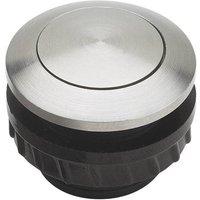 Bouton de sonnette 1 prise Grothe 62000 acier inoxydable 24 V/1,5 A