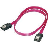 Digitus Festplatten Anschlusskabel [1x SATA-Buchse 7pol. - 1x SATA-Buchse 7pol.] 0.50m Rot