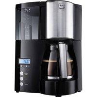 Melitta Optima Timer black Kaffeemaschine Schwarz Fassungsvermögen Tassen=12 Timerfunktion