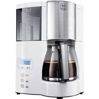 Melitta Optima Timer ws Kaffeemaschine Weiß Fassungsvermögen Tassen=12 Display, Timerfunktion, War