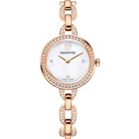 Aila Mini Watch, Metal Bracelet, Rose-gold Tone Pvd