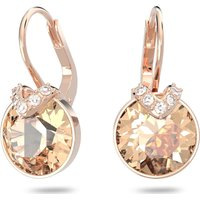 Bella V Pierced Earrings, Pink, Rose-gold Tone Plated